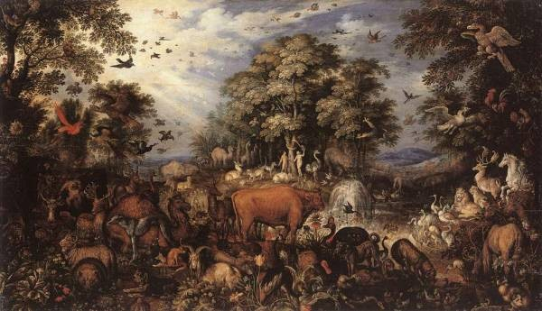 SAVERY Roelandt The Paradise 1626